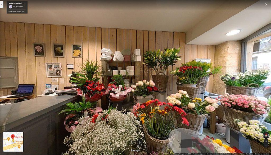 Fleuriste Françoise Mazet à Gourdon